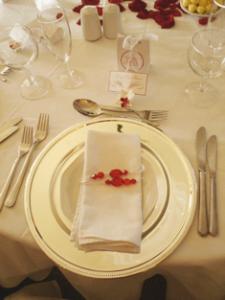 vajillas elegantes para boda