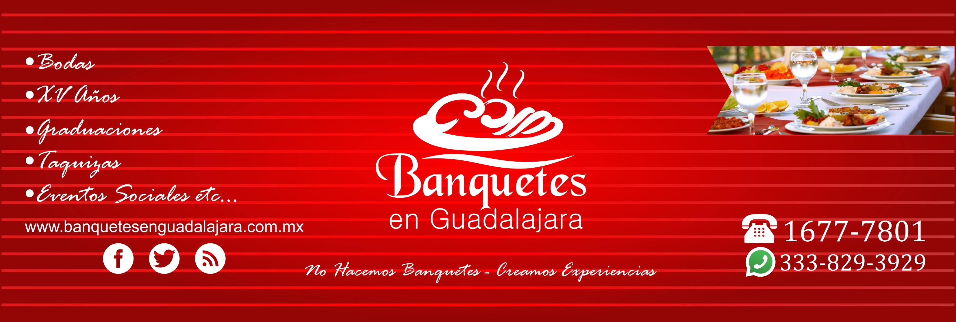 banquetes en Guadalajara